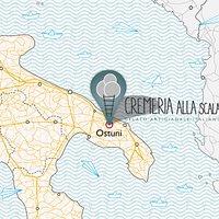 Apulian Gelato Map!