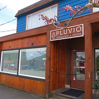 Pluvio restaurant and rooms is located in the heart of the village of Ucluelet, Vancouver Island.