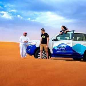 Morning Desert Safari tour in Dubai