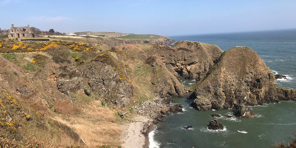 "Beautiful site in Muchalls, Aberdeenshire, a ""must go"", just 15 min by car away from Aberdeen."