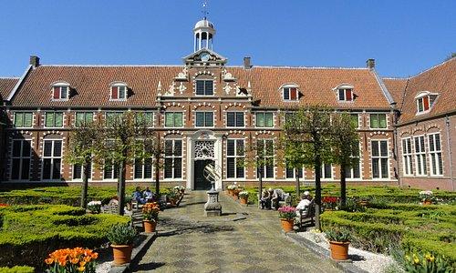 Frans Hals Museum, binnenplaats