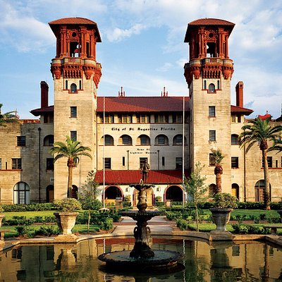 Lightner Museum is housed in the former Hotel Alcazar built by Henry Flagler in 1888.