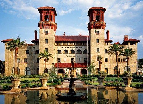 Lightner Museum is housed in the former Hotel Alcazar built by Henry Flagler in 1888.