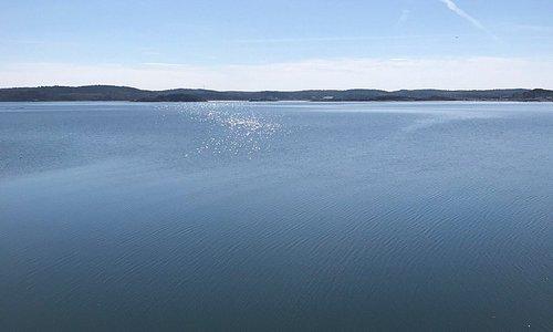 Vacker havsvy