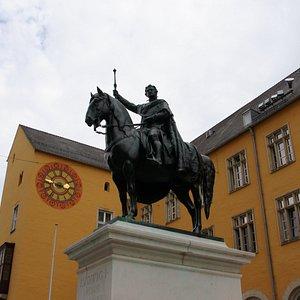 Конная статуя Людвига I