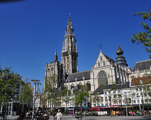 Groenplaats and the Cathedral