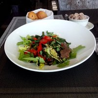 Rostbeef  Salad  was Exellent !!!