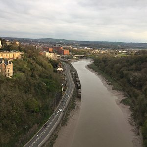 View from the  Clifton Suspension bridge