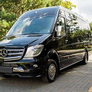 New Mercedes Sprinter. Are you in need of a minibus rental with a driver? 8rental.com