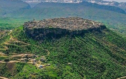 A Kurdish town and popular summer resort and Hill station along a tributary to the Great Zab in the Duhok Governorate of Iraqi Kurdistan.  The history of the city of Amadiya goes back as far as ancient Assyria and it has probably existed even prior to that due to its strategic place on the flat top of a mountain.