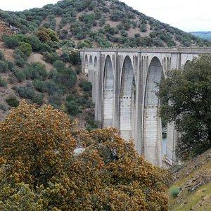 Vista del viaducto