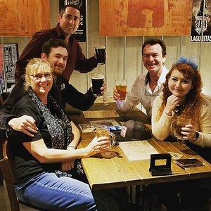 Good brew great crew!