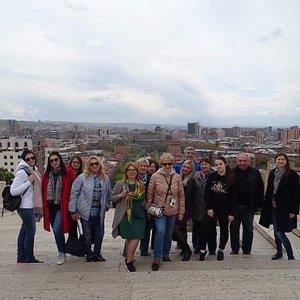 Тур по Еревану!
