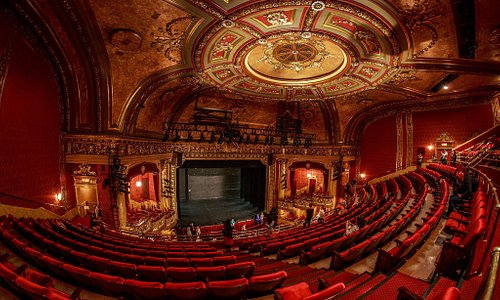 The stage at the Elgin Theatre