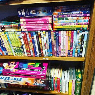 DVD, livres, jeux vidéo de seconde main