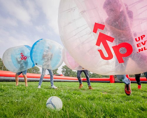 Bubble Football including referee and boarding