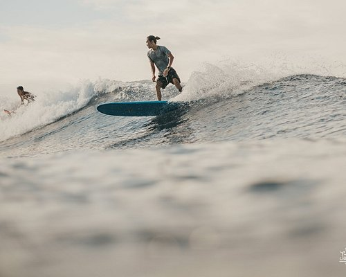 that's me piping, surfing in medewi, bali.