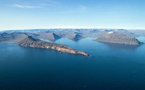 East Iceland fjords