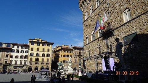 Firenze. Palazzo Vecchio (Primavera del 2019)