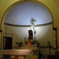 Altar mayor y retablo