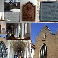 Collage von der Minoriten Kirche in Kleve.