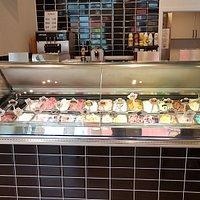 Das neue Eiscafé