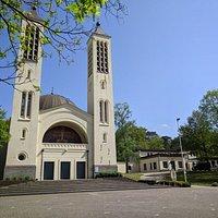 Mooie kerk helaas alleen open do TM zo 1400 uur TM 1630