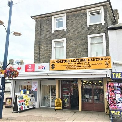 The Original Leather shop in Great Yarmouth Est 1973