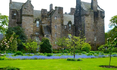 Kellie Castle view from the gardens