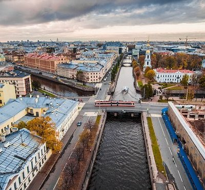 Rivers and channels in Saint Petersburg
