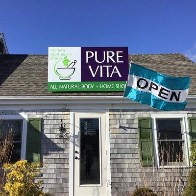 Pure Vita Modern Apothecary Studio Essential Oil Bar & CBD Boutique