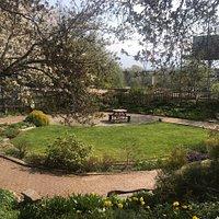 Delightful community garden