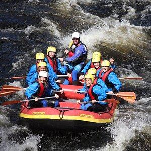 Rafting in the Mandal River
