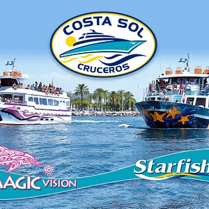 Nuestros barcos: Magic Vision y Starfish.