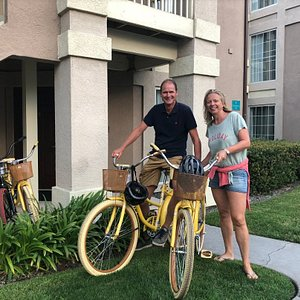 Tampa bicycle rentals delivered right to your door!