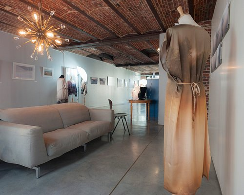Inside the gallery of the artist Yseult D