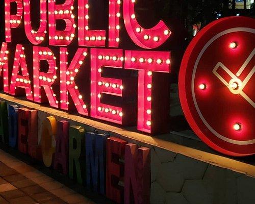 Public market playa del Carmen abre sus puertas