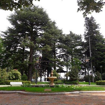 Intérieur du parc