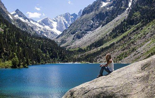 S'émerveiller, se détendre devant le lac de gaube