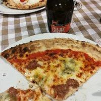 Pizza +Birra artigianale al miele di castagno!👍👍👍