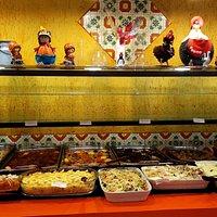 buffet super variado