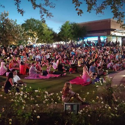 Over 1,500 come out to enjoy the events at Central Green on any given night.