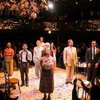 The curtain call of Misalliance at the Orange Tree Theatre