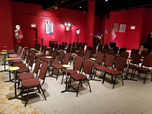 Salle de spectacle avant show