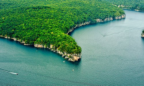 """Long Point on Summersville Lake, WV """"The Little Bahamas of the East!"""" Photo by:  ScenicFotos.com"""
