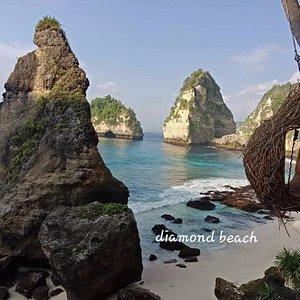 Diamond Beach Nusa Penida island Bali