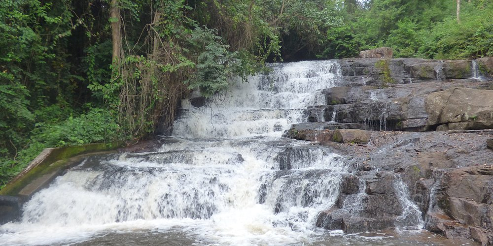 second waterfall outside town, its a nice walk out there