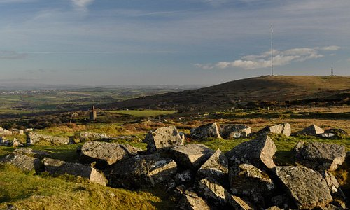 View of Caradon Hill from near Cheesewring Quarry