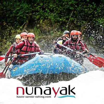 Nunayak Rafting Alpes est situé en Haute-Savoie au pays du Mont Blanc et vous ouvre ses portes dans la grandiose Vallée du Giffre à Sixt Fer à Cheval. Situé au cœur des Alpes, découvrez nos activités d'eau-vive et de montagne pour un séjour détente ou sportif réussi.