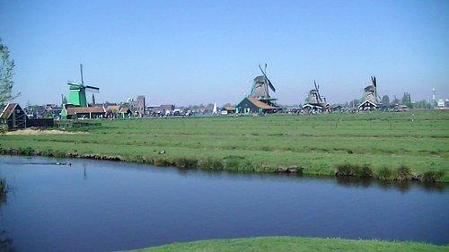 les moulins de hollande
